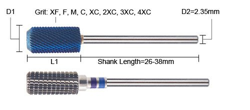 Carbide Nail Drill Bits