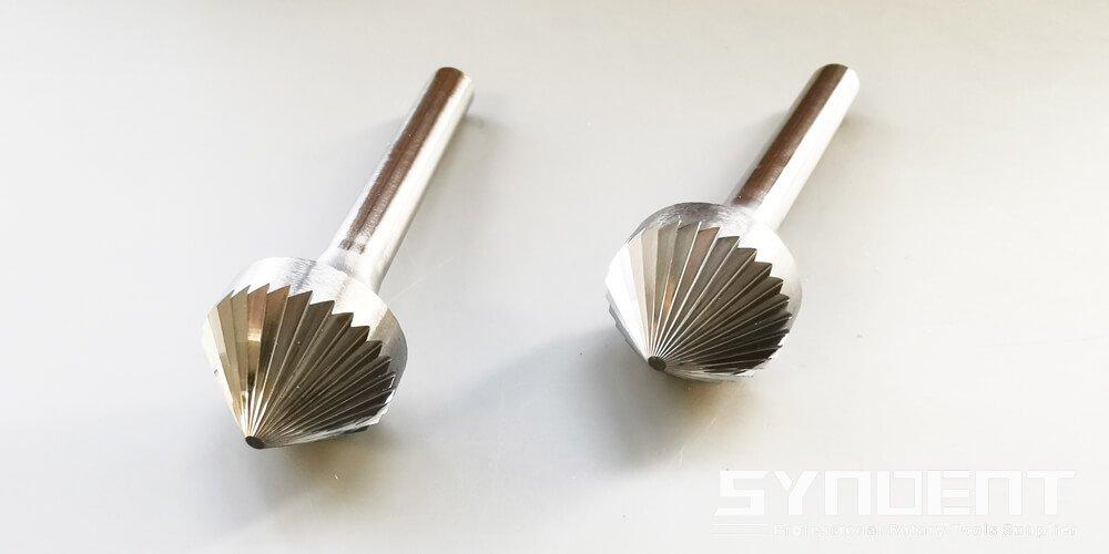 6mm carbide burr cone shape